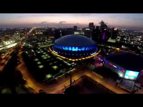 New Orleans From The Sky - in 4K!