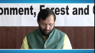 Environment Minister Shri Prakash Javadekar meets prominent leaders on the sidelines of DSDS