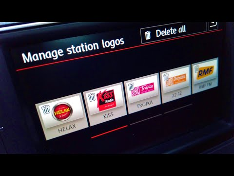 VW radio station database with logos free update
