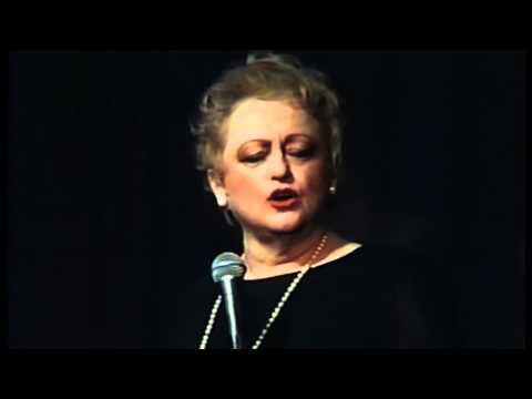"""MARCIA LEWIS sings """"SO WHAT?"""" from CABARET by John Kander & Fred Ebb"""