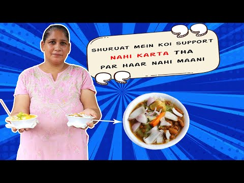 Tasty Home Cooked Food By Rajni Saluja | An Inspirational Woman | Ashok Vihar Street Food