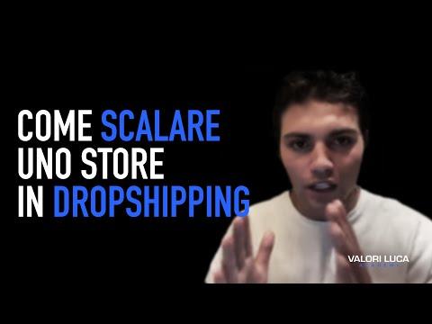 Come scalare uno store in dropshipping