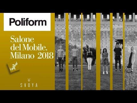 Обзор Poliform. Salone del Mobile Milano 2018 iSaloni