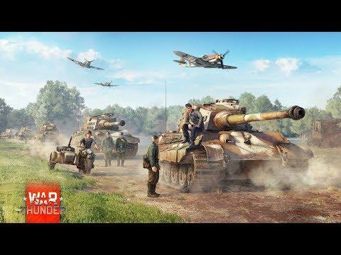 War Thunder.Немцы