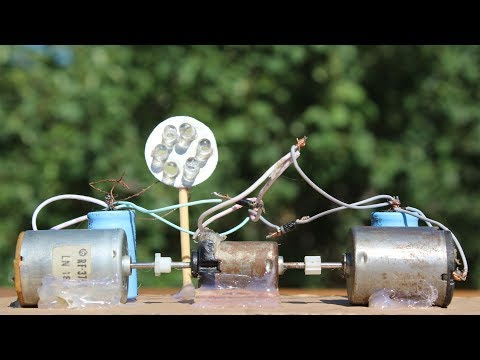 Free Energy Motor Generator Self Running Machine