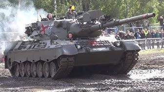 Panzer Leopard 1 A2 Bundeswehr ♦ Stahl auf der Heide 2015 German Battle Tank