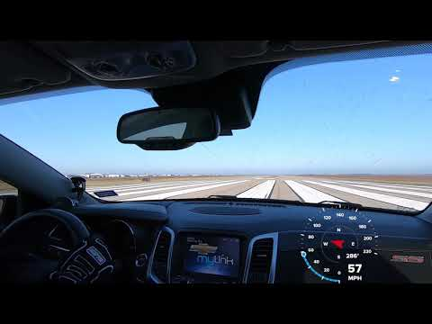 Record Chevy SS 195.5 MPH Texas Mile October 2018