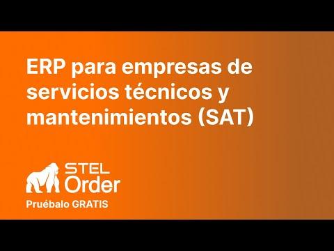 STEL Order Para Empresas De Servicios Técnicos SAT