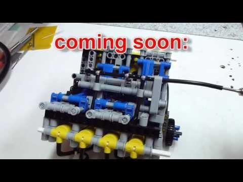 LEGO LPE v8 engine (1500rpm)