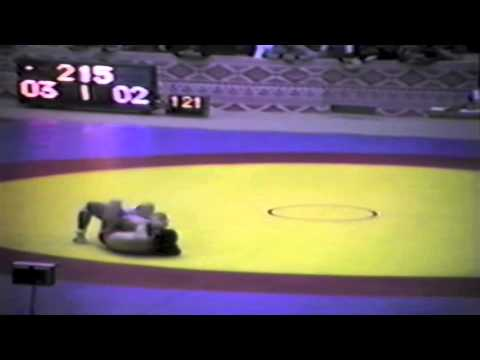 1983 Senior World Championships: 52 kg Tschol Li (PRK) vs. Ray Takahashi (CAN)
