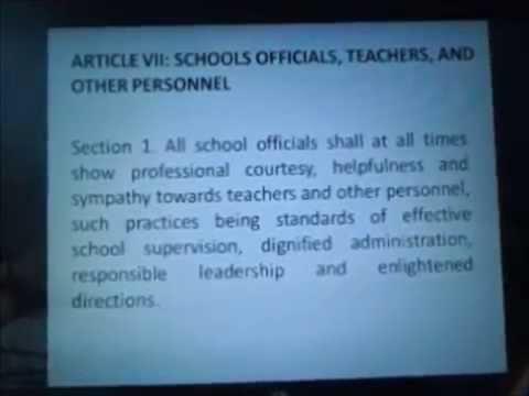 Code Of Ethics For Professional Teacher 4