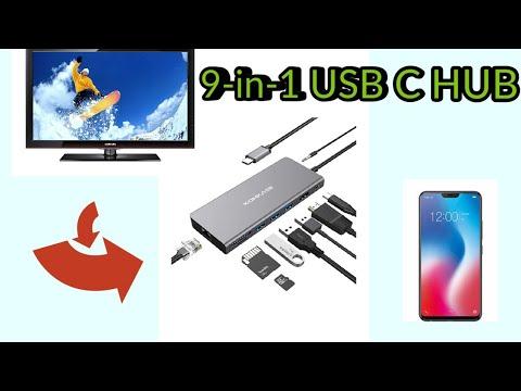 The Best 9-in-1 USB C HUB By Komkaer   Wow!!