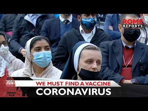 Pope Francis: We must find a vaccine against the coronavirus and inequalities