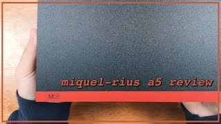 miquel rius a5 notebook review