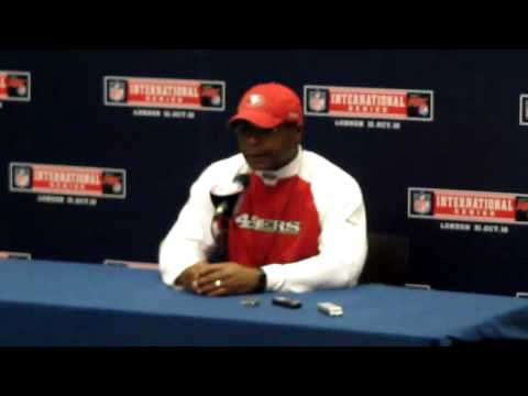 49ers Head Coach Mike Singletary Post Game Press Conference
