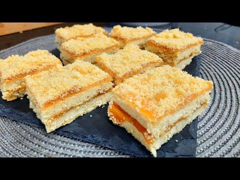 مطبخ ام وليد مربعات المربى ، حلوة جافة تذوب في اليد قبل الفم و ساهلة ماهلة .
