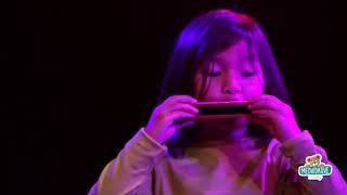 Sada 4 dřevěných hudebních nástrojů Confetti Music