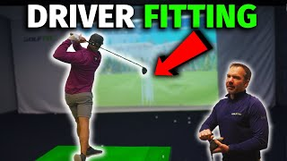 I got Professionally fitted for a DRIVER | GOLF TEC club fitting | Micah Morris