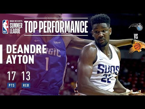Deandre Ayton's Electric Performance vs Orlando In The 2018 MGM Resorts Summer League