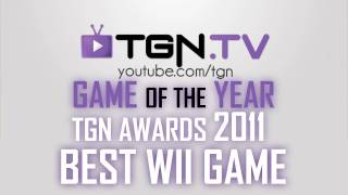 ★ Game of the Year - 2011 - BEST WII GAME - TGN Awards - ft. Yong - WAY➚