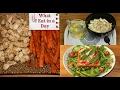 Une journée dans mon assiette / What I eat In a day