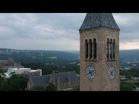 Cornell University Campus via drone - July 2017