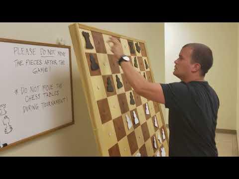 GM Pakleza lecture at Las Vegas Chess Center Part 1