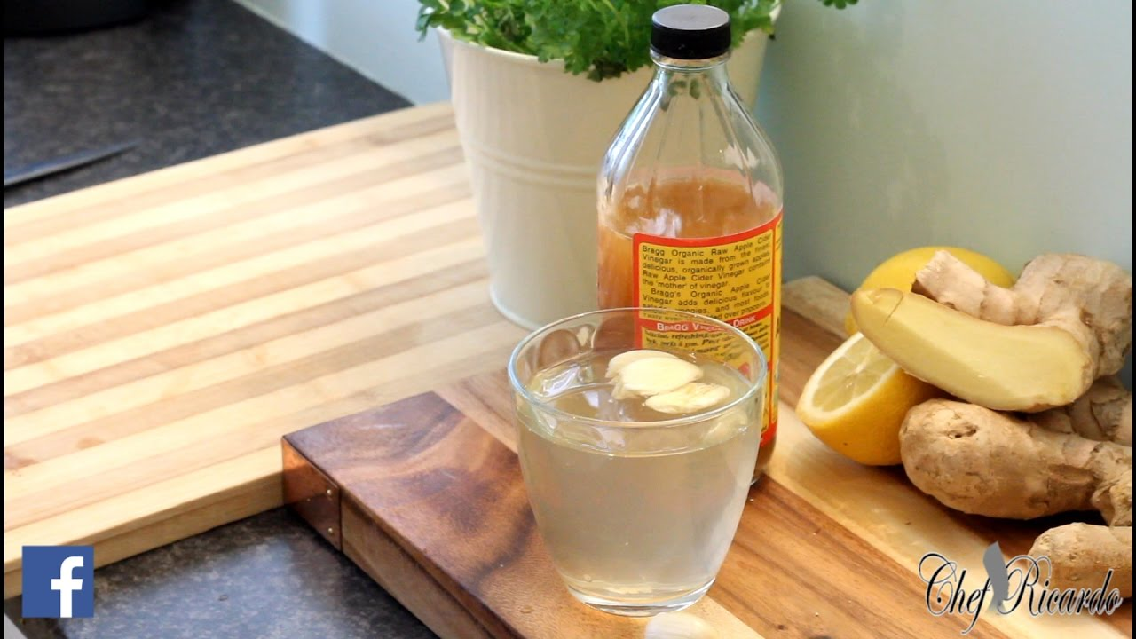Belly Fat Burn Drink With Garlic And Apple Cider Vinegar Recipes By Chef Ricardo