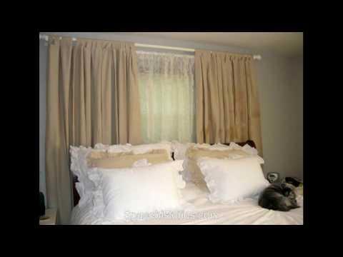 Modern Bedroom Curtain Design