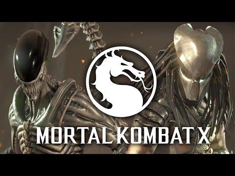 Mortal Kombat X Online: Alien V Predator