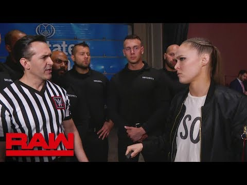 WWE management assigns security to Ronda Rousey: Raw, March 18, 2019 Mp3