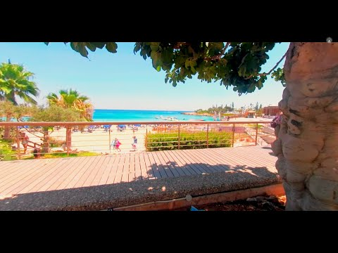 One more 360 relaxation movie from the beach on Cyprus *4k