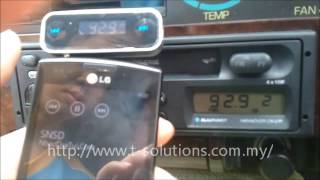 T-Solutions 3.5mm In-car Wireless FM Transmitter