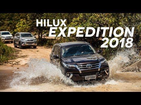 Participamos de um passeio off-road com várias Hilux e SW4 (Newland Hilux Expedition 2018)