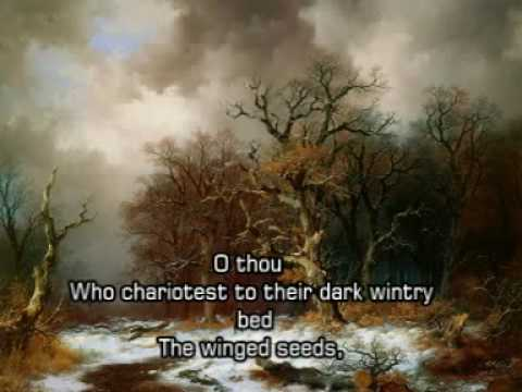 Ode To The West Wind - Percy Bysshe Shelley