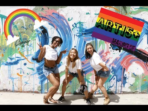 Arti5+ | The making of | UWC CSC 2nd year Project week