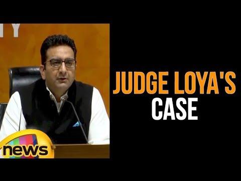 Gaurav Bhatia Making A Statement To Press   Judge Loya Case   Mango News