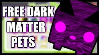 GIVING AWAY FREE DARK MATTER PETS! (UPDATE 11) Roblox Pet Simulator