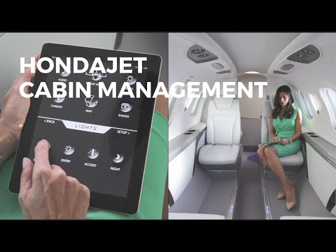 HondaJet Elite Cabin Management System