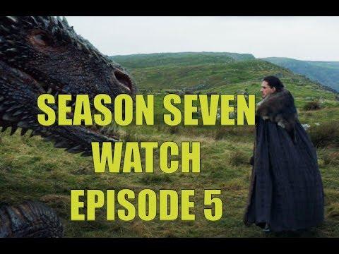 Preston's Game of Thrones Season Seven Watch - Season 7 Episode 5 Eastwatch