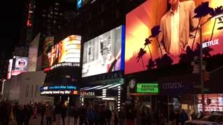 Bank of America add Times Square Nyc