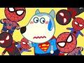 🔴 LIVE   Superman Wolfoo is Lost in Spiderman World - Wolfoo Pretend Play Superhero