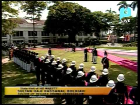 Part 1 - State Visit of His Majesty Sultan Haji Hassanal Bolkiah - PTV Special Coverage