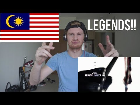 (LEGENDS!!) Negaraku - Joe Flizzow, Altimet, SonaOne & Faizal Tahir // MALAYSIAN RAP REACTION