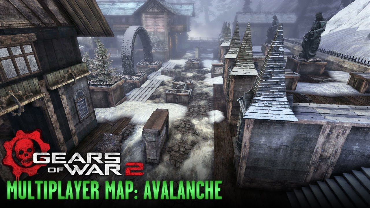Gears of War 2 - Multiplayer Maps and Weapons - Avalanche on halo 3: odst, tekken 2 maps, left 4 dead, left 4 dead 2, call of duty waw maps, unreal 2 maps, company of heroes 2 maps, guild wars 2 maps, dead space, god of war, call of duty: advanced warfare maps, halo: combat evolved, unreal engine, mortal kombat 2 maps, red dead redemption, the elder scrolls v: skyrim, gears of war 1 maps, call of duty: modern warfare 3, metal gear 2 maps, advance wars 2 maps, dark souls 2 maps, dying light 2 maps, goat simulator maps, dante's inferno maps, the crew maps, gears of war 4 maps, call of duty: world at war, marcus fenix, halo: reach, epic games, call of duty mw2 maps, call of duty: modern warfare 2, gears of war 3, call of duty 2 maps, the last of us maps, mass effect 2, star wars battlefront 2 maps,