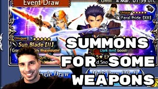 Summons for Firion EX Weapon - [DFFOO] - Dissidia Final Fantasy: Opera Omnia
