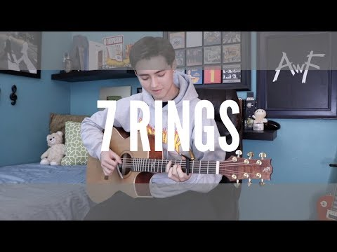 7 rings - Ariana Grande Cover **BUT** played only on a guitar (fingerstyle guitar)