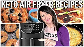 10 Keto Air Fryer Recipes - Healthy LOW CARB for ANYONE!