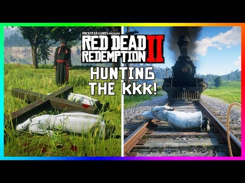 Hunting Down & Getting Revenge On The KKK In Red Dead Redemption 2 - Taking Out KKK Members! (RDR2)
