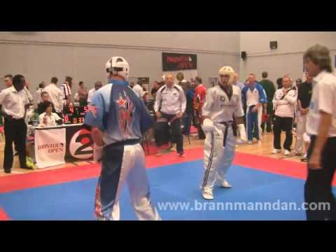 Marco Nordio v Mark Worth Bristol Open 2011